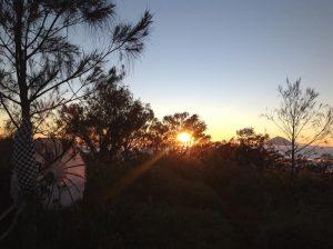 matahari terbit gunung batukaru blingurah.com