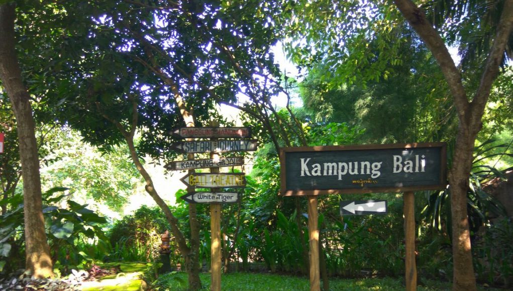 kampung-bali-di-Bali-Safari-And-Marine-Park